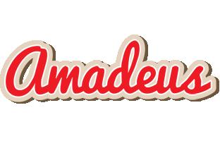 Amadeus chocolate logo