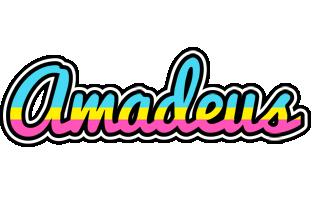Amadeus circus logo