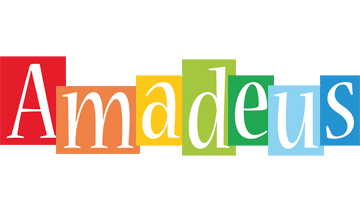 Amadeus colors logo