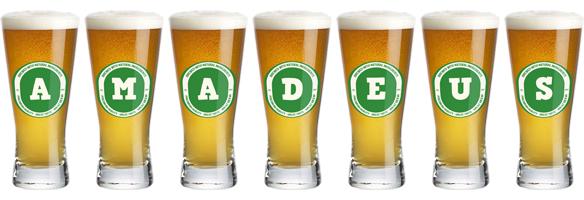 Amadeus lager logo