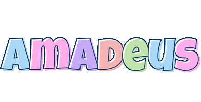 Amadeus pastel logo
