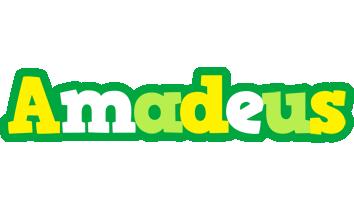 Amadeus soccer logo