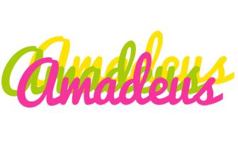 Amadeus sweets logo