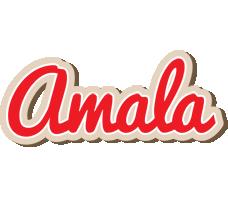 Amala chocolate logo