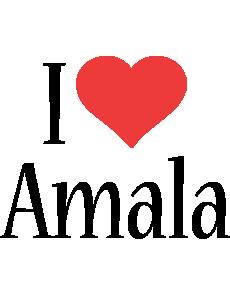 Amala i-love logo
