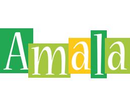 Amala lemonade logo