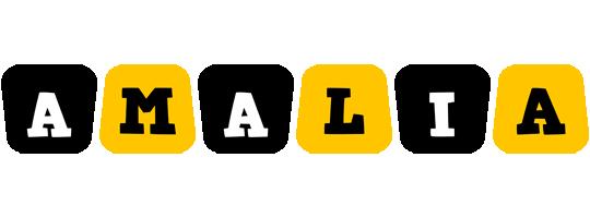 Amalia boots logo
