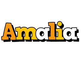 Amalia cartoon logo