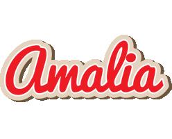 Amalia chocolate logo