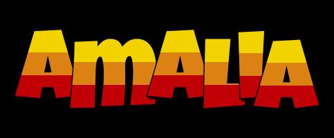 Amalia jungle logo