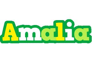 Amalia soccer logo
