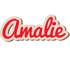 Amalie chocolate logo