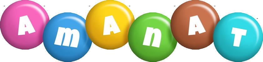 Amanat candy logo