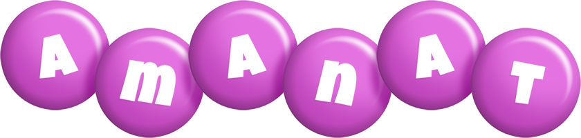 Amanat candy-purple logo
