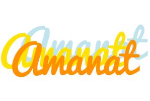 Amanat energy logo