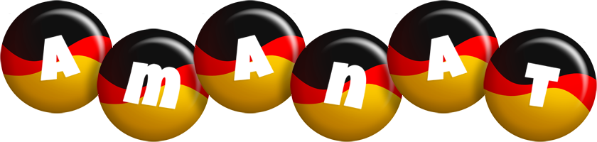 Amanat german logo