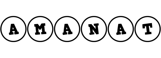 Amanat handy logo