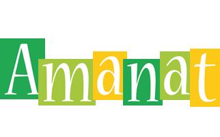 Amanat lemonade logo