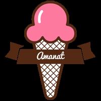 Amanat premium logo