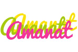 Amanat sweets logo