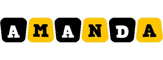 Amanda boots logo