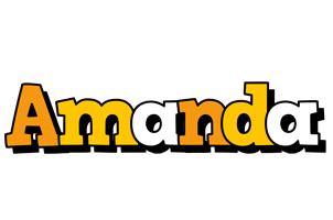 Amanda cartoon logo