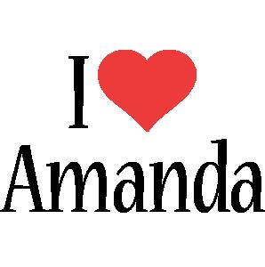 Amanda i-love logo