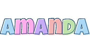 Amanda pastel logo