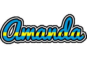 Amanda sweden logo