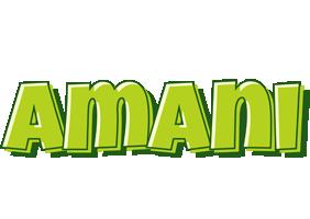 Amani summer logo
