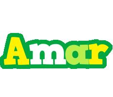 Amar soccer logo