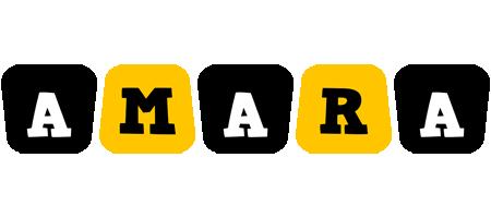Amara boots logo