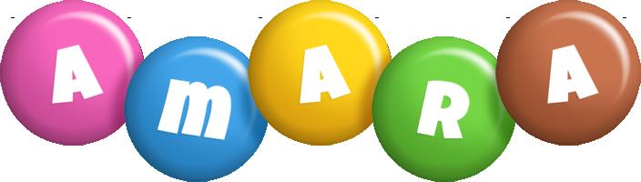 Amara candy logo