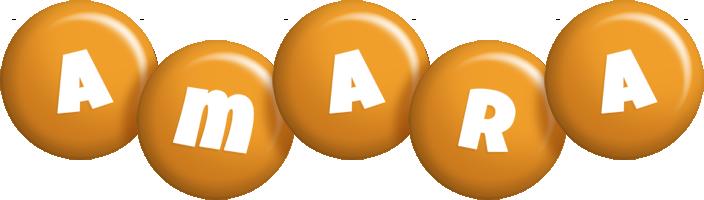 Amara candy-orange logo