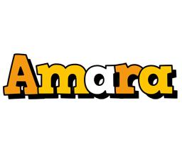 Amara cartoon logo