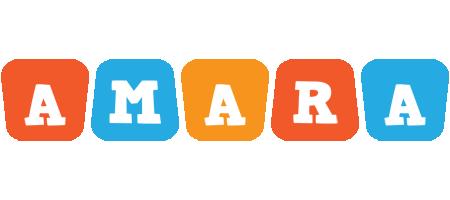 Amara comics logo