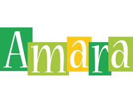 Amara lemonade logo