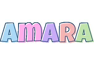 Amara pastel logo