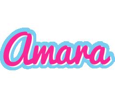 Amara popstar logo