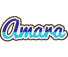 Amara raining logo