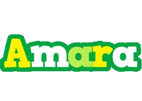 Amara soccer logo