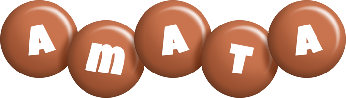 Amata candy-brown logo