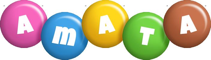 Amata candy logo