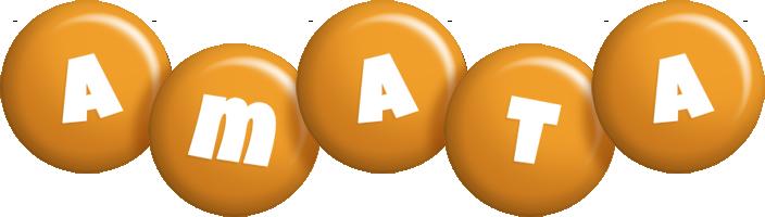Amata candy-orange logo