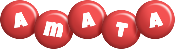 Amata candy-red logo