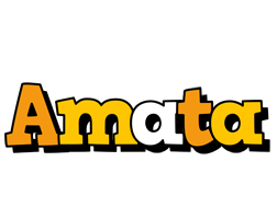 Amata cartoon logo