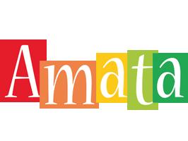 Amata colors logo