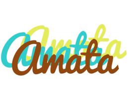 Amata cupcake logo