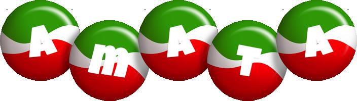 Amata italy logo