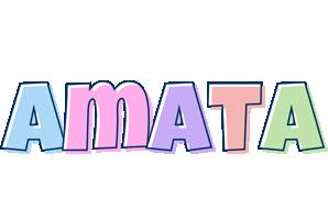 Amata pastel logo